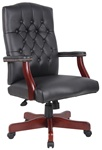 Boss Executive Mahogany wood Finish Chair B905