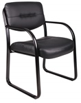 Boss Leather Guest Chair B9529