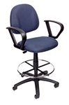 Boss Task Chair with Foot Ring B1617