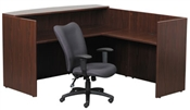 Boss Receptionist Desk w/ Transaction Counter