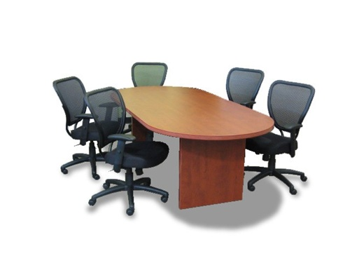 View Office Chair Brochure - Cherryman Amber Racetrack Conference Table
