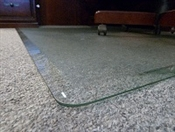 "Chairman Glass ChairMats 46"" x 46"""