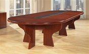 Office Star Cherry Wood Conference Table
