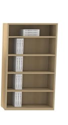 "Amber 65""H Bookcase"
