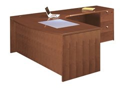 "Cherryman Jade Series Executive ""L"" Desk"