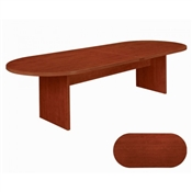 Cherryman Amber Racetrack Conference Table