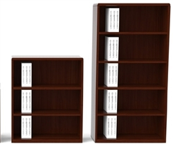 Cherryman Ruby Series R828 Bookcase/Hutch