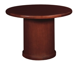 Cherryman Ruby Round Conference Table w/ Drum Base