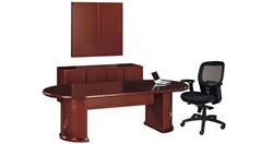 Cherryman Ruby Racetrack Conference Table