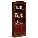 Govenors 7350-09 Bookcase with Doors