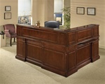 Keswick Traditional L shape Reception Desk