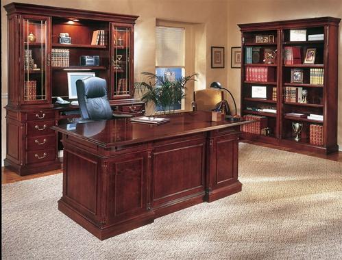 Beautiful DP Traditional Executive Desk - TR Trading Company