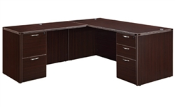"DMI Fairplex 7004-2728E RIGHT / LEFT JUNIOR EXECUTIVE ""L"" DESK"