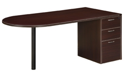 DMI Fairplex 7004-3233 THREE-DRAWER SALES DESK