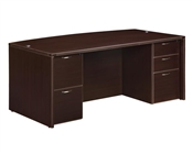 DMI Fairplex 7004-37 EXECUTIVE BOW FRONT DESK