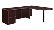 "DMI Fairplex 7004-4546E RIGHT / LEFT EXECUTIVE BULLET ""L"" DESK"