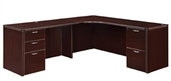 DMI Fairplex 7004-51E LEFT EXECUTIVE CORNER DESK