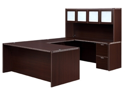 "DMI Fairplex 7004-5758E RIGHT / LEFT EXECUTIVE ""U"" DESK"
