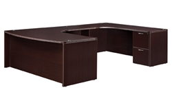"DMI Fairplex 7004-847 RIGHT EXECUTIVE WORK STATION ""U"" DESK"