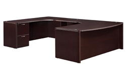 "DMI Fairplex 7004-848 LEFT EXECUTIVE WORK STATION ""U"" DESK"