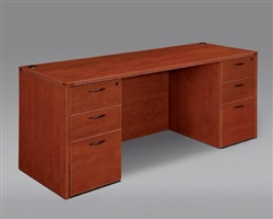 DMI Fairplex 7005-21 EXECUTIVE KNEEHOLE CREDENZA