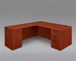 "DMI Fairplex 7005-4748E RIGHT / LEFT EXECUTIVE ""L"" DESK"