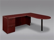 "DMI Fairplex 7006-4546E RIGHT / LEFT EXECUTIVE BULLET ""L"" DESK"