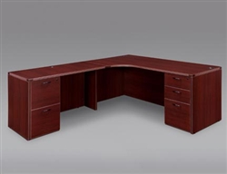 DMI Fairplex 7006-51E LEFT EXECUTIVE CORNER DESK