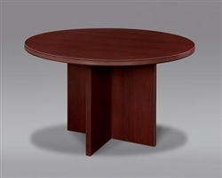 "DMI Fairplex 7006-721 47"" ROUND CONFERENCE TABLE"