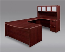 "DMI Fairplex 7006-847 RIGHT EXECUTIVE WORK STATION ""U"" DESK"