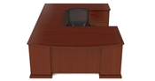 Emerald Executive U Desk by Cherryman