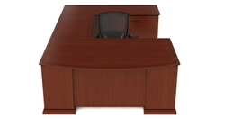 Cherryman Emerald Executive U Desk