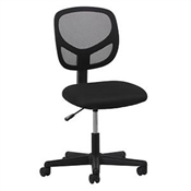 OFM Essentials Swivel Mesh Armless Task Chair ESS-3000