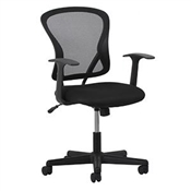 OFM Essentials Swivel Mesh Task Chair with Arms ESS-3011