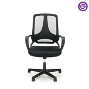 OFM Essentials Mesh Hi-Back Chair with Arms ESS-3040