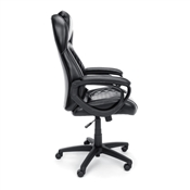 High-Back Racing Style Leather Executive Office Chair