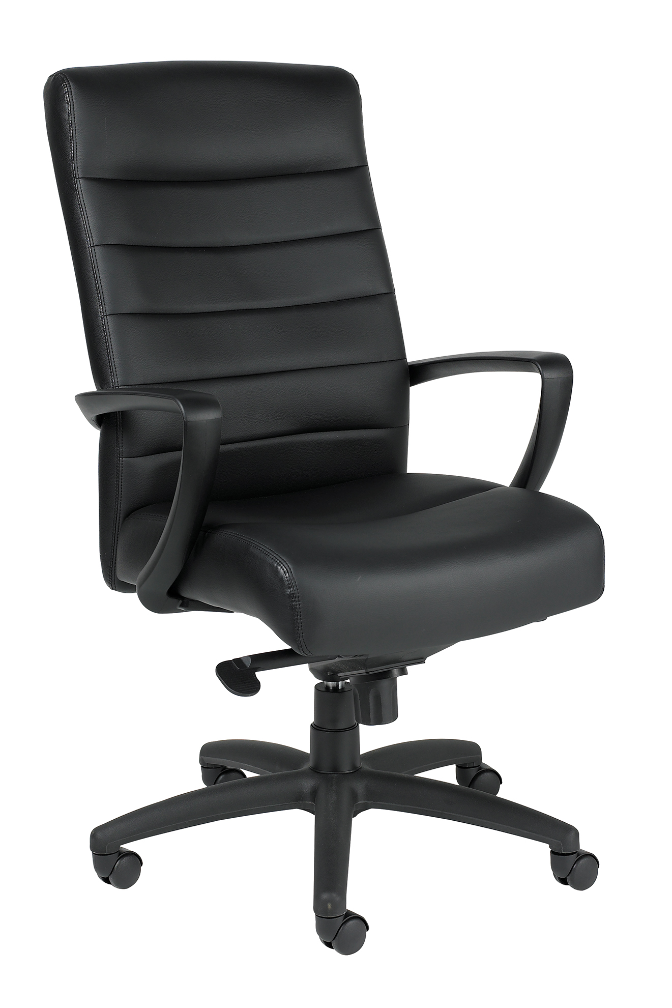 Eurotech Manchester High Back Black Leather
