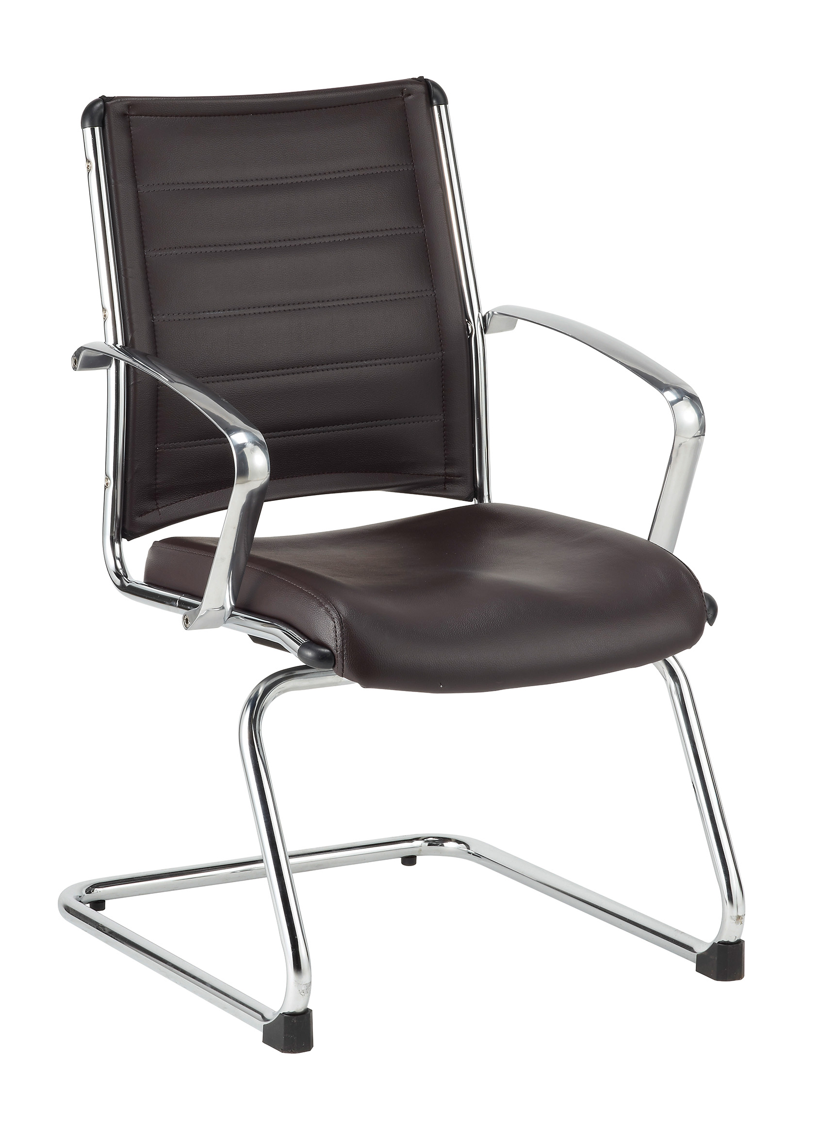 Eurotech Europa leather Guest Chair Brown