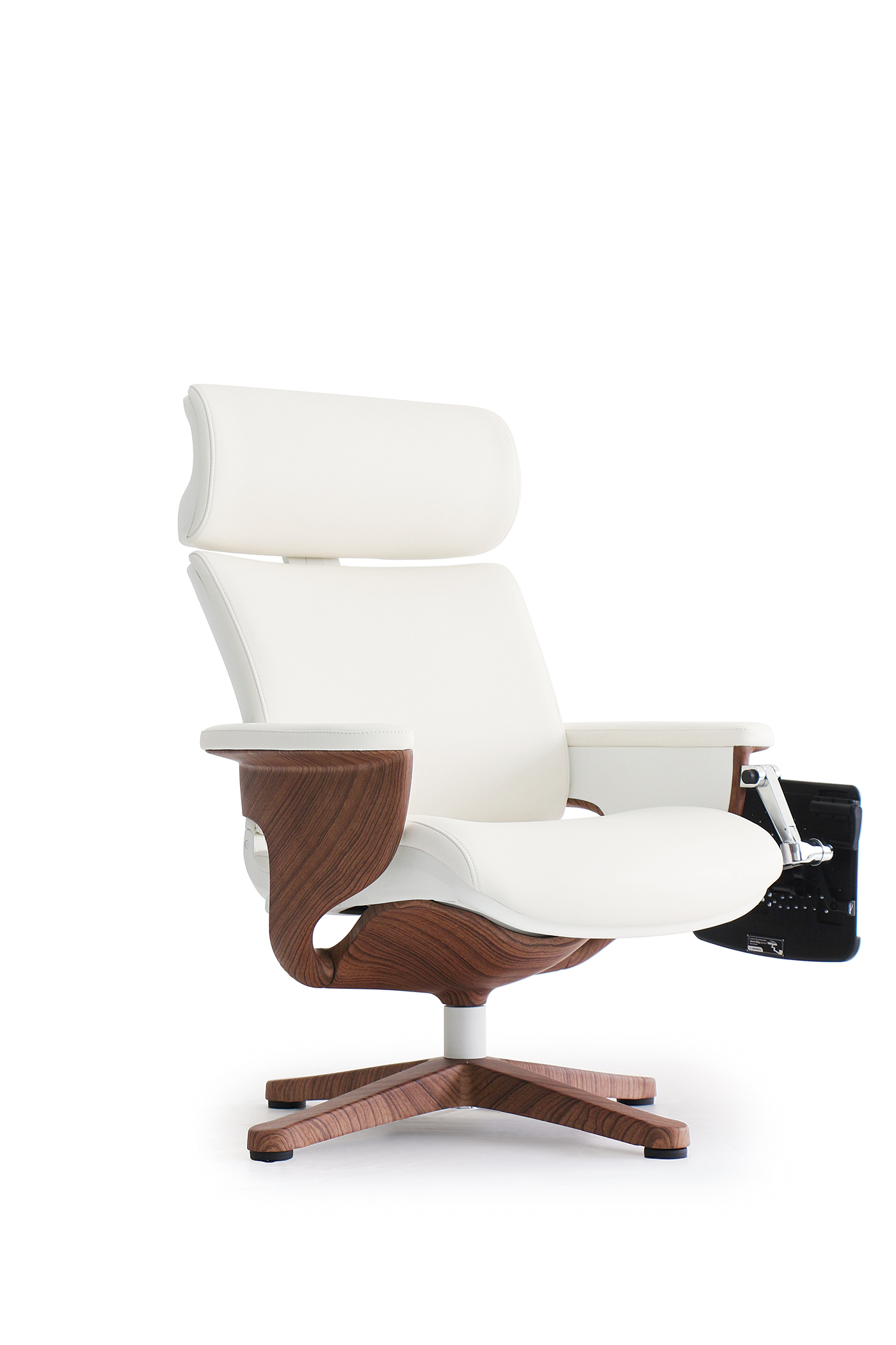 Eurotech Nuvem lounge leather seating - white