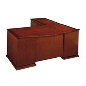 Cherryman Emerald L Shaped Bowfront Desk