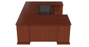 Cherryman Emerald U Shaped Desk