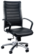 Europa VE111 Black Vinyl Office Chair
