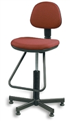 Drafting Stool Fabric Office Chair