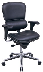 Eurotech Leather Mid Back Ergonomic Chair
