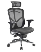 Fuzion Mesh Office Chair with Headrest