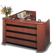 Echo Reception Desk by Faustinos