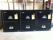 Used Fire King Fireproof Filing Cabinets
