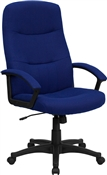 High Back Navy Blue Fabric Executive Swivel Office Chair by Flash Furniture