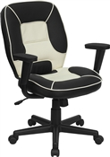 Mid-Back Vinyl Steno Executive Office Chair by Flash Furniture