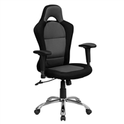 Race Car Inspired Bucket Seat Office Chair by Flash Furniture